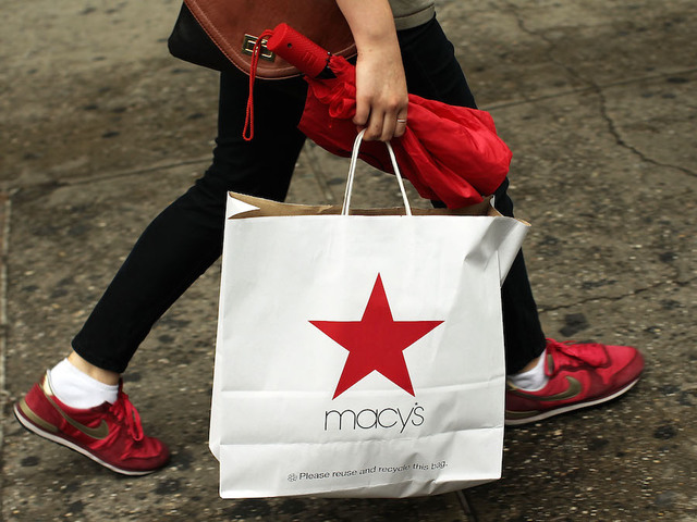 Macy's hires eBay boss, shakes up management
