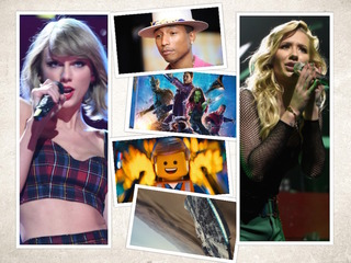 2014's most popular music, movies and web videos
