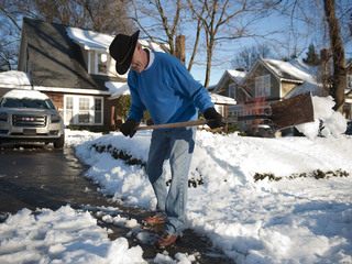 Take it easy: Shoveling snow can lead to death