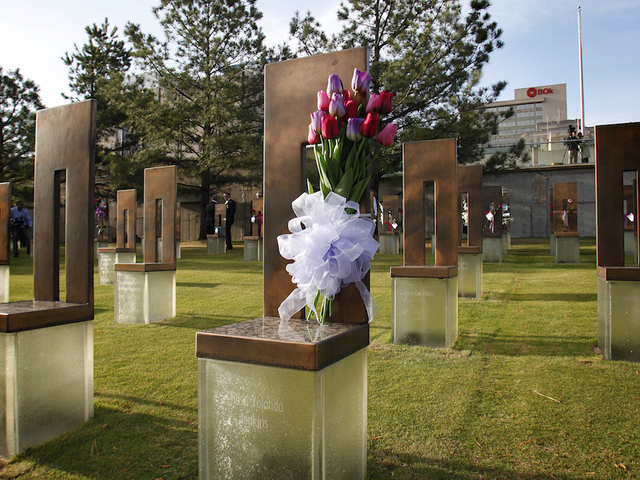 creative story of oklahoma city bombing The oklahoma city bombing was a domestic terrorist attack that occurred in  of  the nine-story alfred p murrah federal building in downtown oklahoma city.