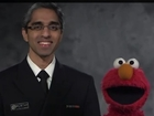 Elmo and Surgeon General promote vaccinations