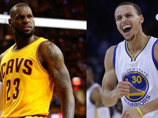 Curry vs. James in NBA Finals