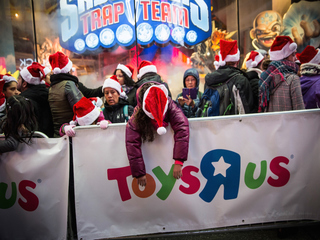 When did holiday shopping become a nightmare?