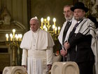Pope denounces violence done in God's name