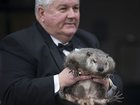Pennsylvania groundhog 'predicts' early spring