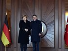 Merkel in Turkey for migrants talks