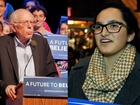 Sanders supporters respond to Steinem