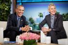 Obama recites love poem to first lady on 'Ellen'
