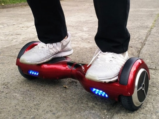 PD: Theft suspect escapes on hoverboard
