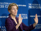 Warren unleashes Twitter storm on Trump