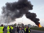 Dock workers storm French port city