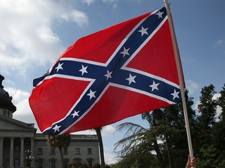 'Shame' spray painted on Confederate monument