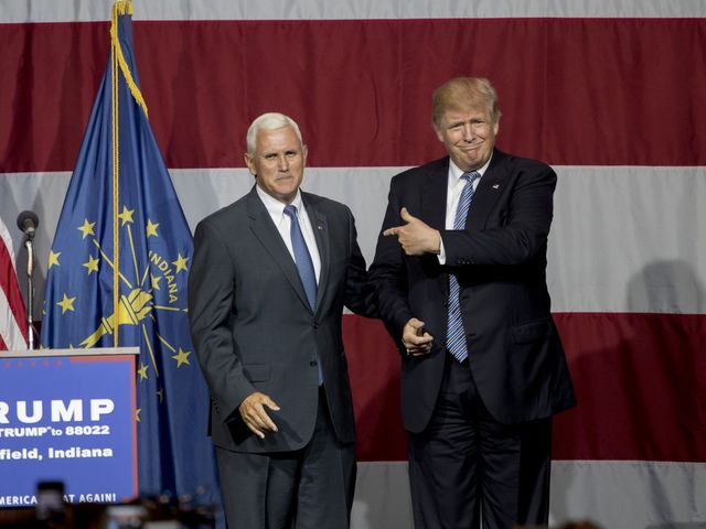 It's Pence: Trump announces his VP choice on Twitter