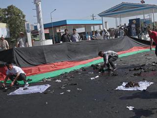 Dozens killed in Kabul bombing