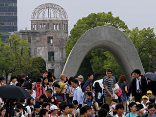 Hiroshima atomic-bomb park is 'Pokemon Go' site