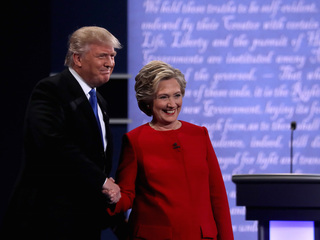 Who won Monday's presidential debate?