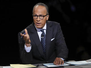 Lester Holt worked to keep control of debate