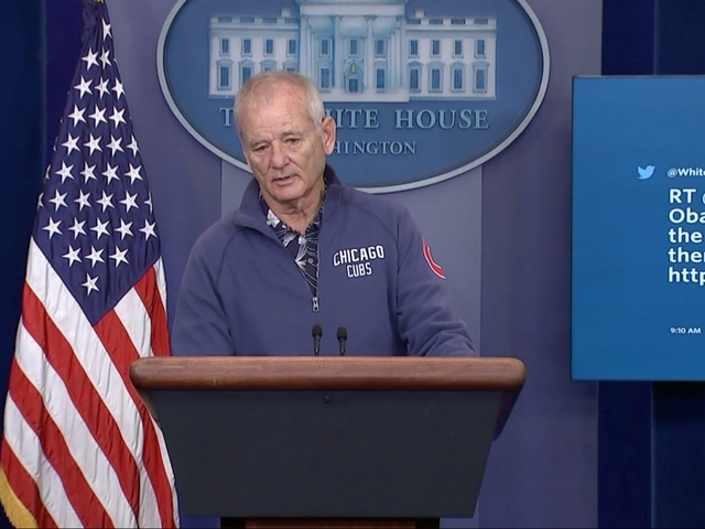 Bill Murray Crashes The White House