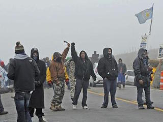Dakota Access pipeline protesters arrested