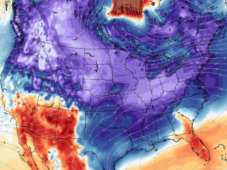 Second wave of cold air for the US next week