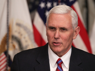 Pence defends his use of personal email address