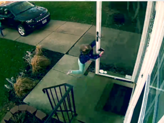 Viral video shows Ohio girl picked up by wind