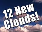 Twelve new clouds named in the Cloud Atlas