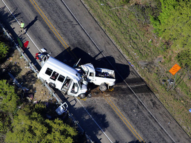 NTSB Investigates Texas Church Bus Accident that Left 13 Dead