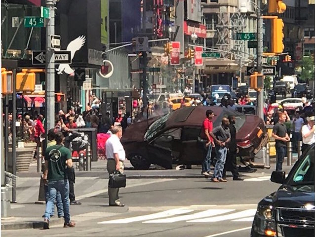 1 killed, 22 injured in NYC's Times Square fatal vehicle  incident