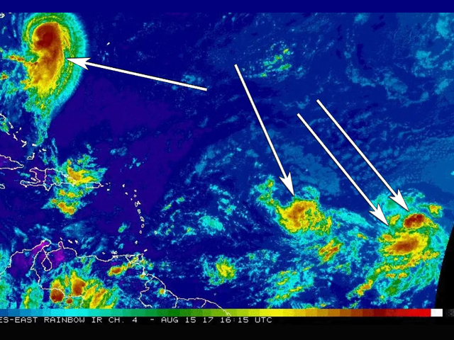 Hurricane Gert plus three more tropical systems on the way