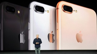 Apple introduces all-glass iPhone X