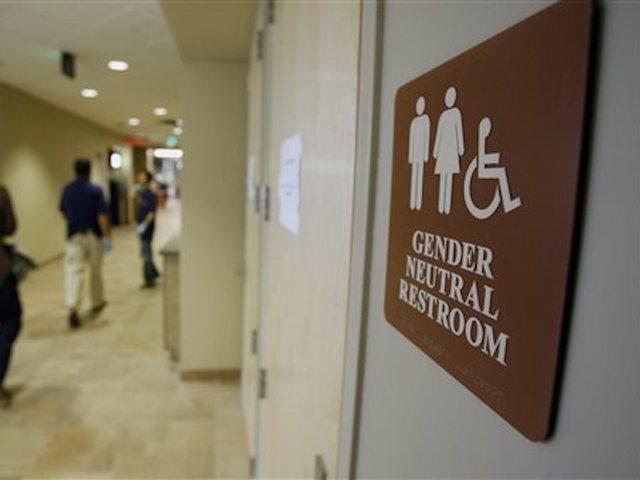 23 2007 file photo a sign marks the entrance to a gender neutral restroom at the university of vermont in burlington vt in clashes over transgender - Target Transgender Bathroom