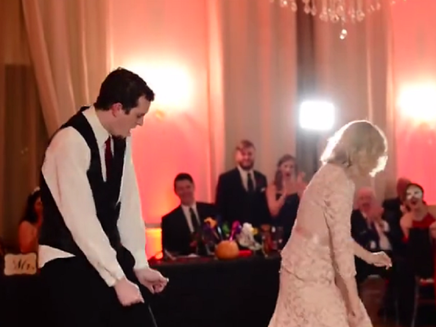 Watch Mother And Son Pull Off Epic Wedding Dance Wcpo Cincinnati Oh