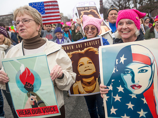 Fueled by #metoo, Women's March returns