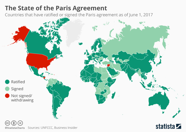 Map: The state of the Paris agreement - WCPO Cincinnati, OH