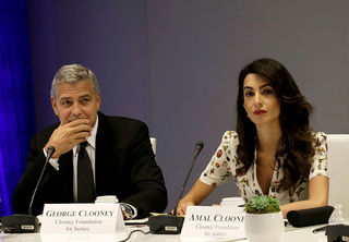 George, Amal Clooney donate $1M to fight hate