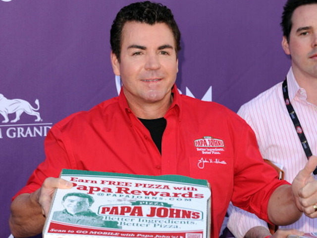 Las Vegas Nv April 01 Papa Johns Pizza Founder John Schnatter Arrives At The 47th Annual Academy Of Country Music Awards Held At The Mgm Grand Garden