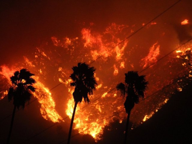 Evacuation Orders Issued for almost  200k as Los Angeles Fires Rage