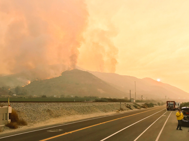 CIF Regional Football Game Moved to Saturday Because of Thomas Fire