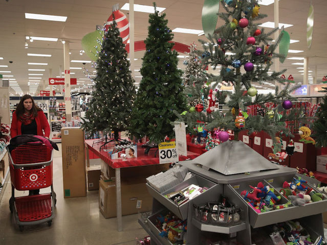 christmas items are offered for sale at a target store on december 13 2017 in chicago illinois - Christmas Decorations Target Stores