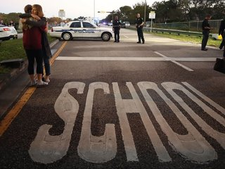 Sheriff: Deputy never entered school in shooting