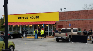 Hero prevented further bloodshed at Waffle House