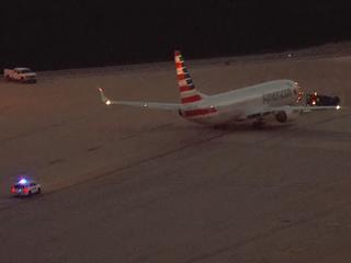 Passenger falls ill on American Airlines flight